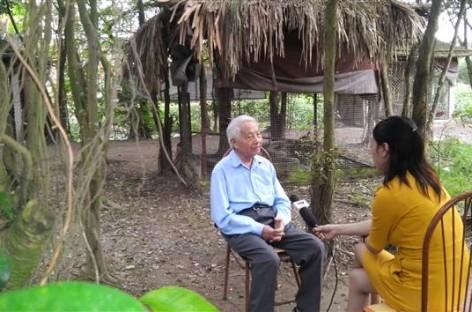 Giáo sư Võ Qúy Thăm Vườn Chim Việt